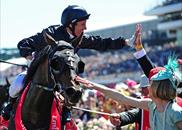 A delighted Damien Oliver returns on Fiorente